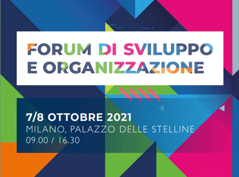 SCS al Forum Sviluppo e Organizzazione 2021